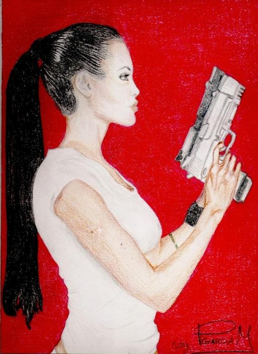 Angelina Jolie by PGARCIAM